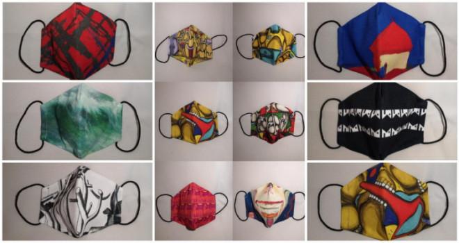 Карантинне мистецтво: у Музеї Корсаків можна придбати ексклюзивні маски